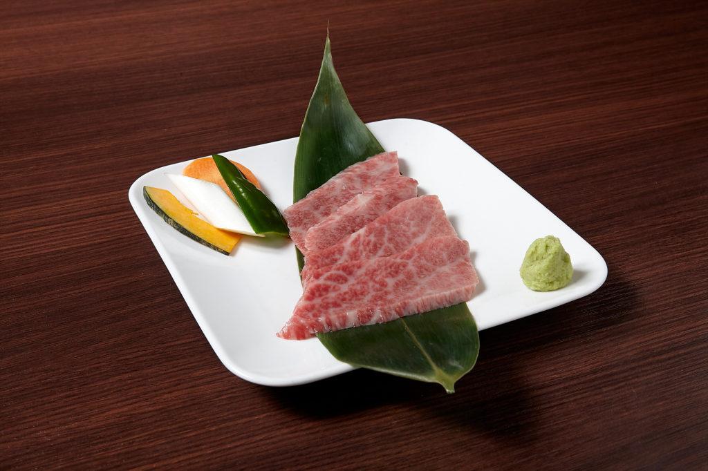 神戸牛三角バラ